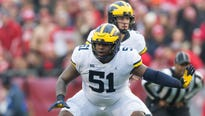 Michigan's banking on Cesar Ruiz being the OL's most important answer at center.