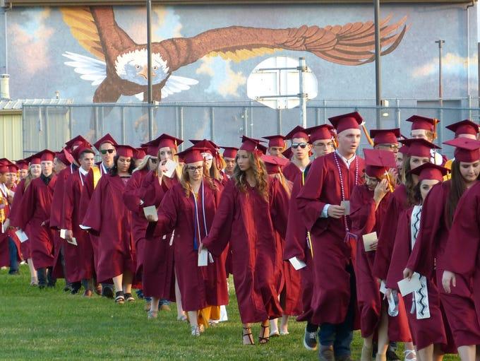 West Valley High School Class of 2018.