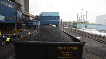 Last coal cars roll into Kodak area, marking end of an era as power plant converts to gas
