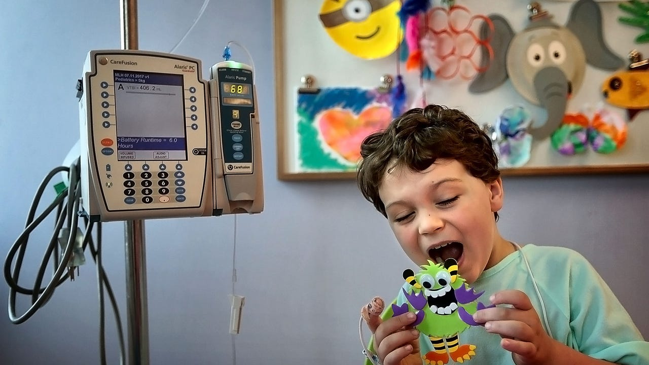 Le Bonheur Children's Hospital is collaborating with the Memphis College of Art for a second year with MCA students, faculty and staff reimagining monsters originally created by the hospital's child patients.