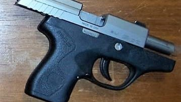 TSA stopped a woman at a Salisbury Regional Airport checkpoint who was carrying this loaded .38 caliber handgun in her bag on Wednesday, May 9, 2018.