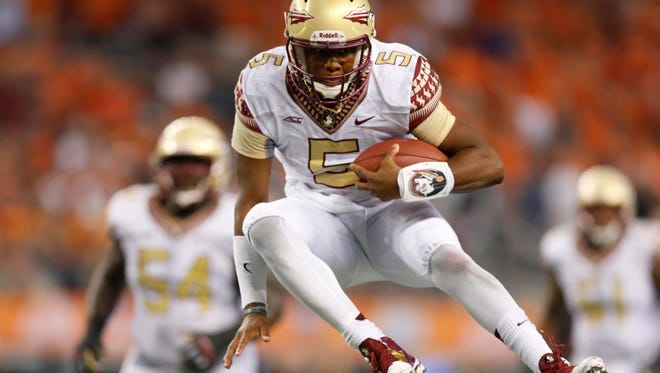 Jameis Winston, who had a highlight-reel run for a second-half TD, was not at his best Saturday. But if Florida State's performance had any value beyond a W, it was that past performance can't help in the present.