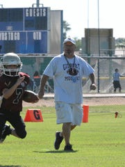 Mike Thompson, an East Valley Pop Warner fixture and
