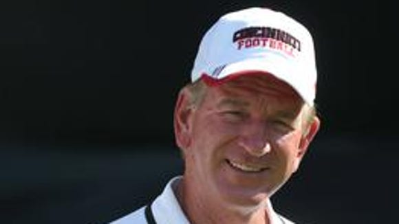 Tommy Tuberville is asking UC fans to show up in force for the spring game Saturday.