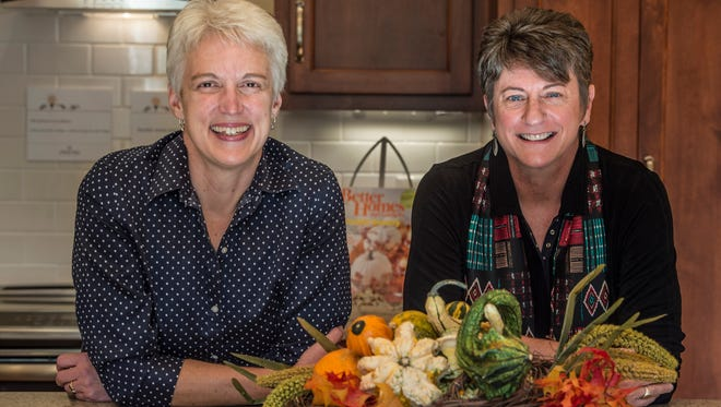 Denise Becker, left, is project manager and  Cindy Natsch is founder and owner of A Better Nest, a consulting company that helps people design or retrofit homes to age in place.