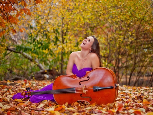 Cellist Emily Taubl will take part in Sunday's spring