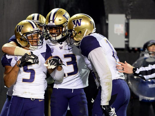 NCAA Football: Washington at Colorado