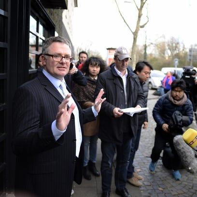 Christoph Kumpa, spokesman for Duesseldorf's public