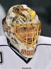 Florida Everblades goalie John Muse