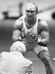 Tony Mandarich, MSU football, 1989.
