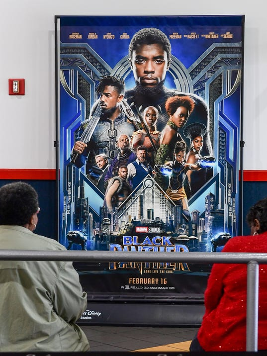 Black Panther movie in Anderson
