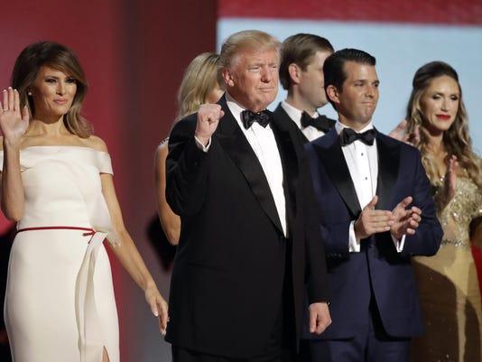 Donald Trump,Melania Trump,Donald Trump Jr