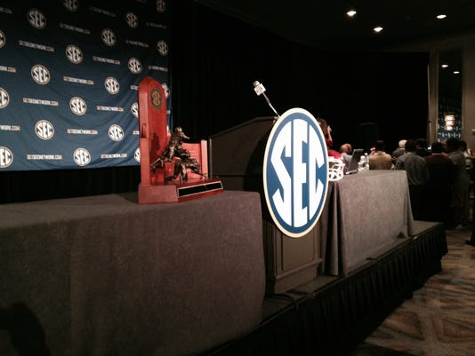 SEC media days photo