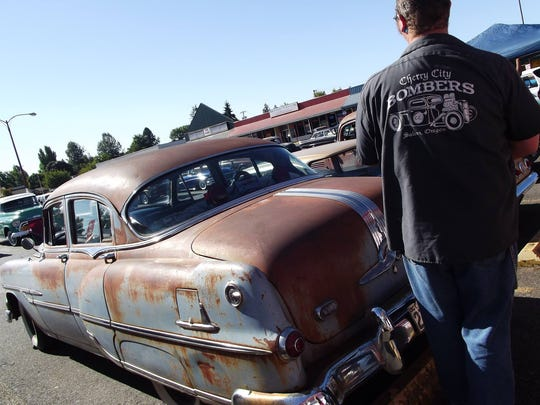 Cherry City Bombers' annual Rust-O-Rama car show is happening Saturday at the Oregon State Fairgrounds.