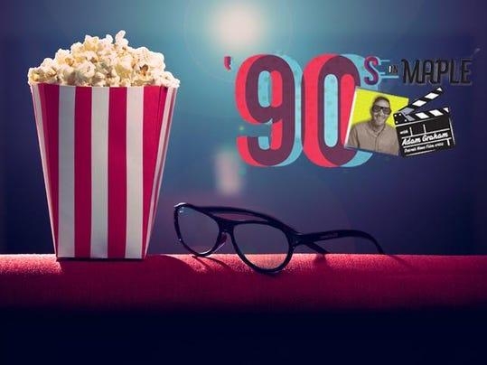 pop corn on armchair cinema