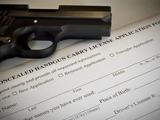 Concealed Handgun Permit Application