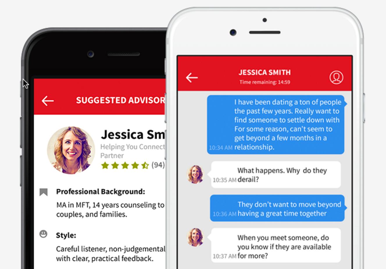 Iphone app dating advice