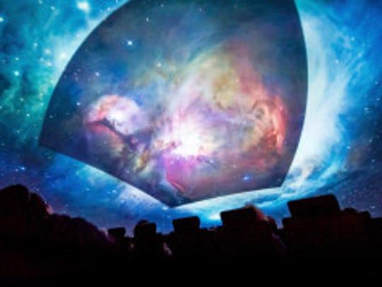 Guests at Adler Planetarium's Astro-overnights get