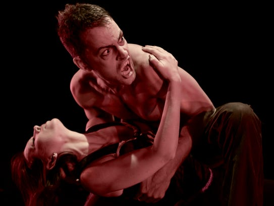 'Dracula' features Darren and Heather Stevenson, pictured.