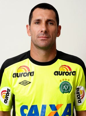 Nivaldo, a 42-year-old goalkeeper for Chapecoense, announced his retirement on Wednesday, a day after 19 of his teammates died in a plane crash.