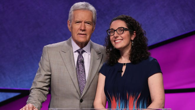 Susannah Nichols, a high school English teacher at The Roeper School in Birmingham, Mich., will compete the weeky of May 8, 2017 in the 'Jeopardy!' Teachers Tournament.
