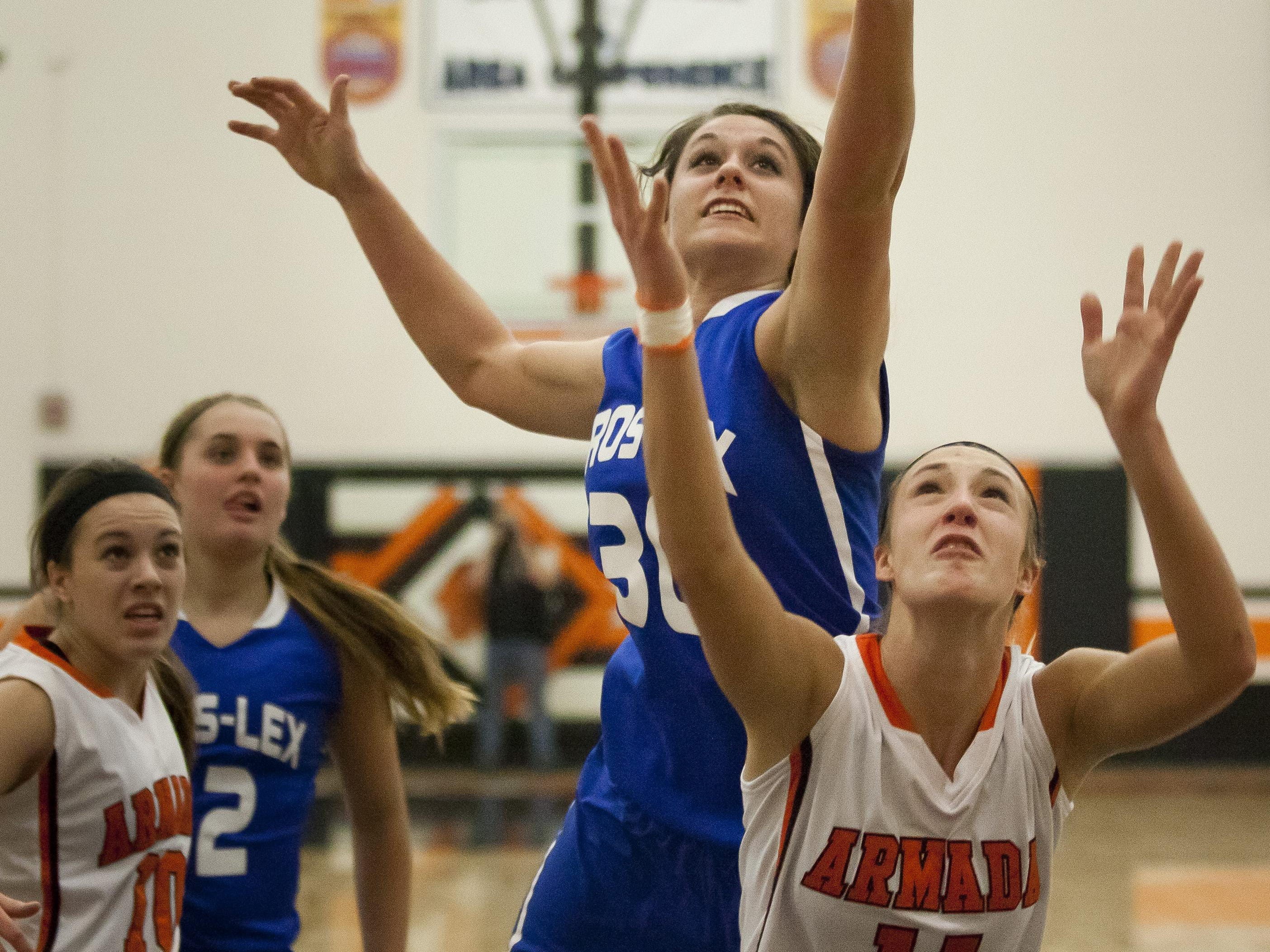 Megan Guitar led Croswell-Lexington to a BWAC and district title in basketball.