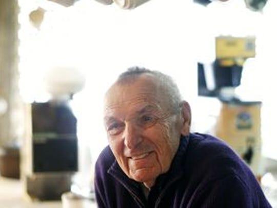 Anton Tasich, the owner of Anton's Cofee Shop, died Jan. 17.