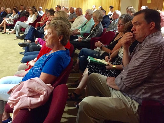 Glacier County residents pack the courtroom Wednesday