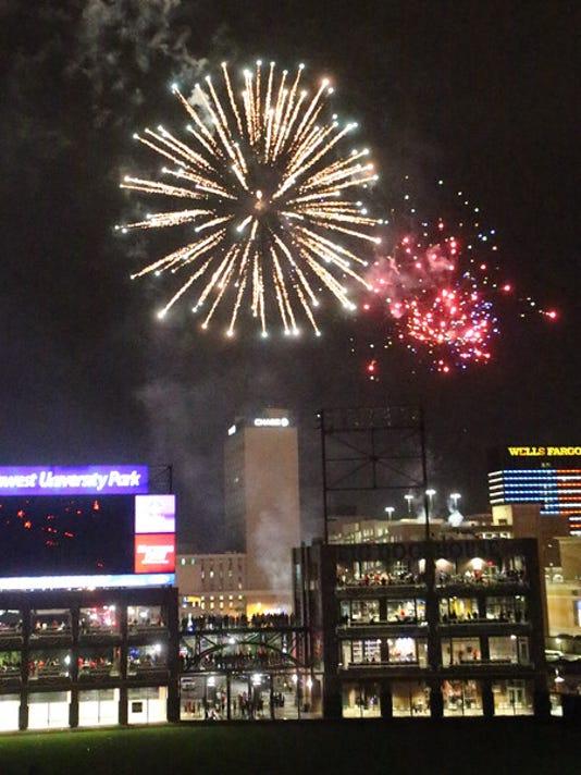 El Paso Chihuahuas - Fireworks