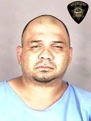 Javier Moreno, 37, was arrested by Salem Police on