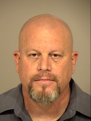 Robert Longdon's jail booking photo from Tuesday.