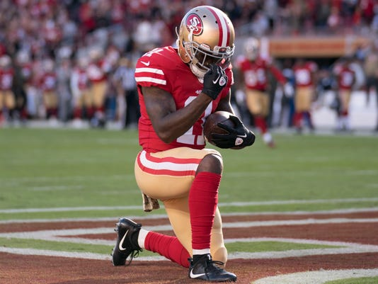 USP NFL: NEW YORK GIANTS AT SAN FRANCISCO 49ERS S FBN SF NYG USA CA