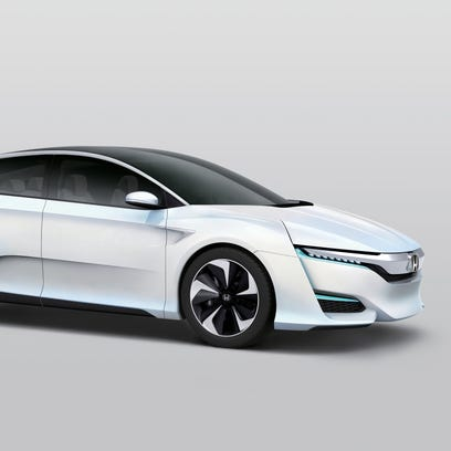 Honda FCV Concept is the automaker's latest hydrogen-powered car