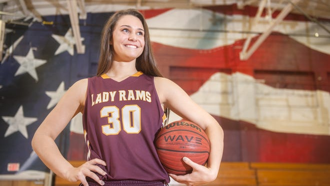 Gloucester Catholic's Mary Gedaka, the Courier-Post's 2016 Girls' Basketball Player of the Year.