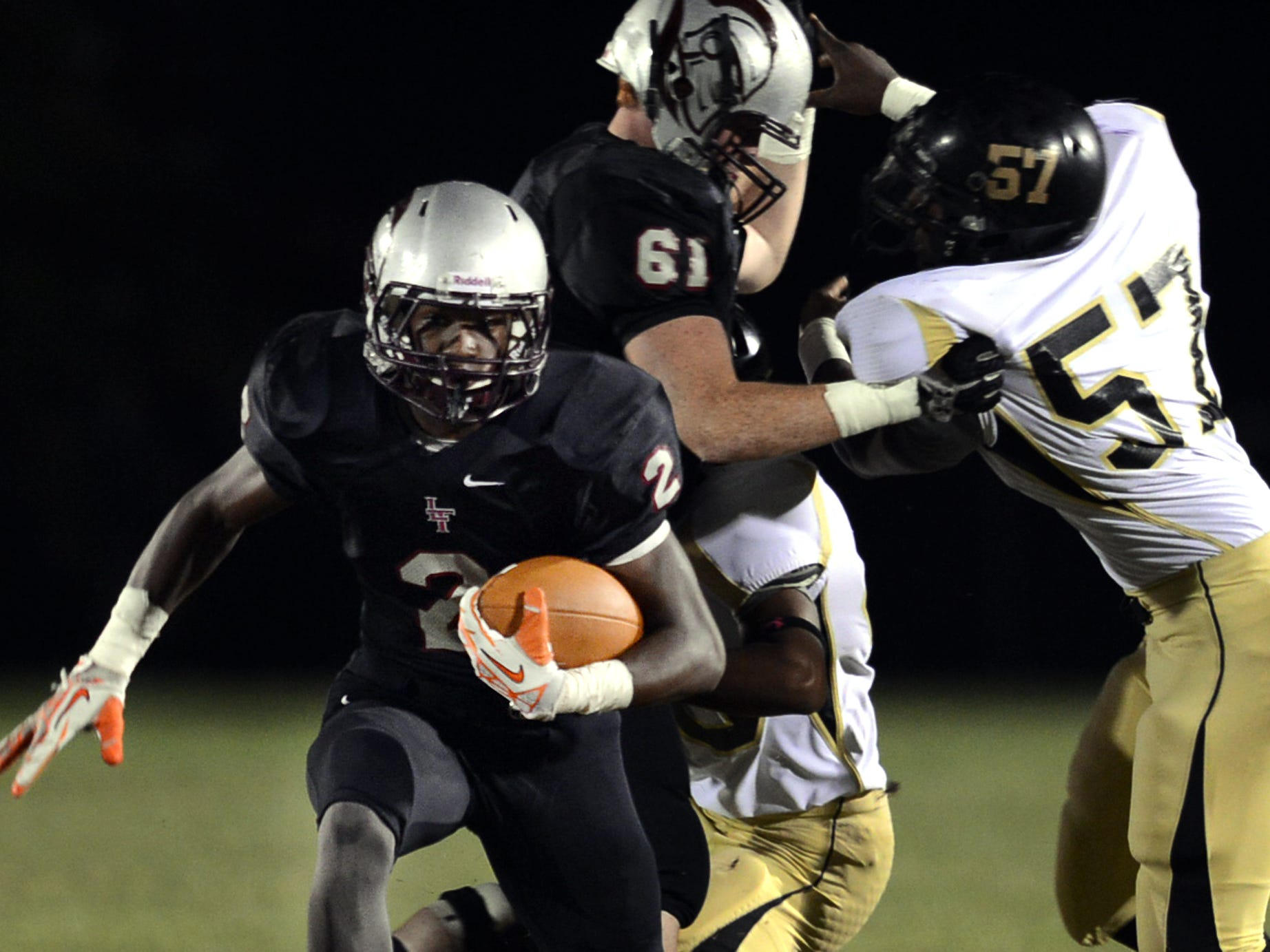 Liberty Tech's Devin Bush will be a key contributor Friday night if Liberty is going to beat Henry County.