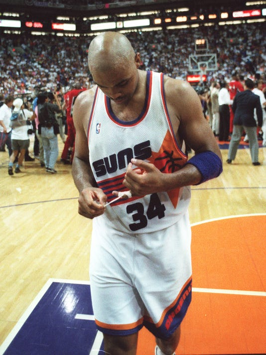 771f217ddc2 Charles Barkley s not on Suns all-time roster in NBA2K18  here s why