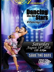 """The Kane Center Council on Aginghealth care expertsand professional dancerswill present""""Treasure Coast Dancing Like the Stars"""" from 5:30 to 8:30 p.m. Aug.18 at 900 S.E. Salerno Road, Stuart."""