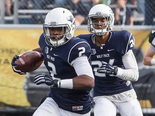 Wolf Pack safety Asauni Rufus is one of the team's