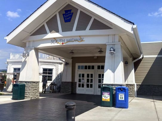 The South Midway service plaza on the turnpike has