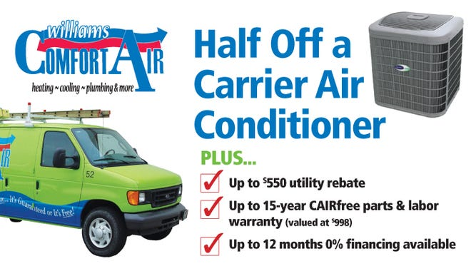 Half Off a Carrier Air Conditioner