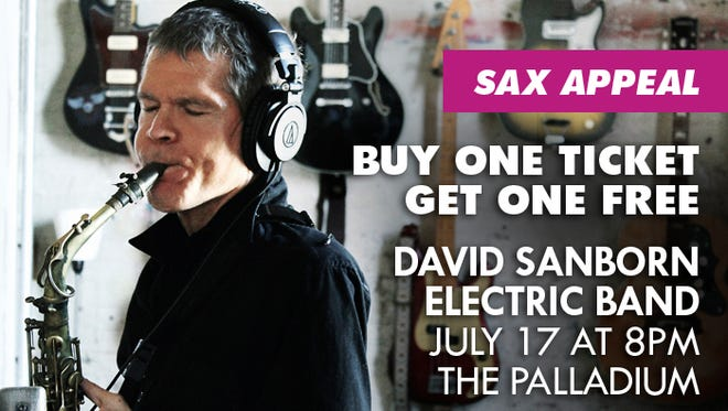 David Sanborn Electric Band Buy One Get One Free Tickets