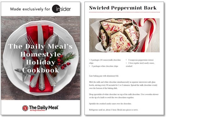 Homestyle Holiday Cookbook