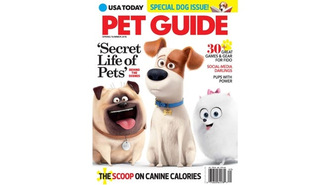 USA Today Pet Guide 2016 Cover