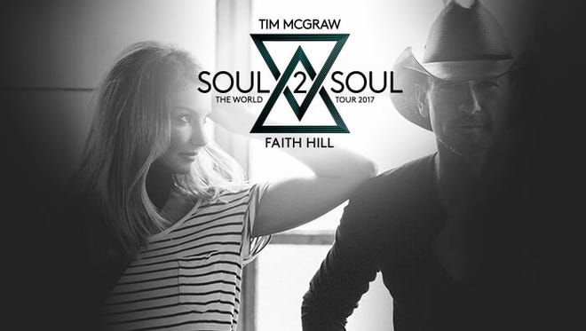 Tennessean subscribers have access to advanced tickets to Tim McGraw and Faith Hill's 2017 Soul2Soul tour.