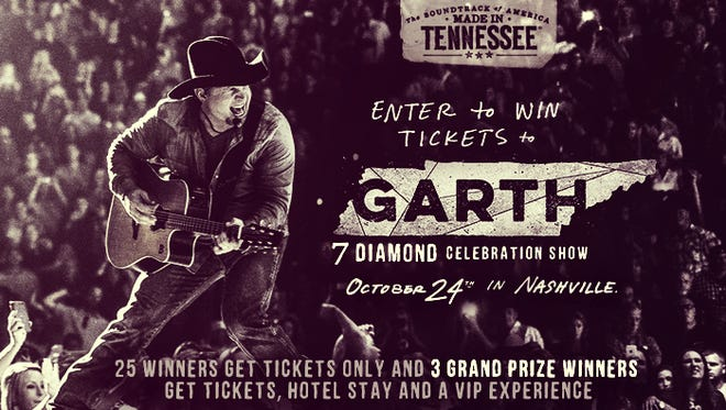 Enter to win tickets to GARTH, the 7 Diamond Celebration Show.