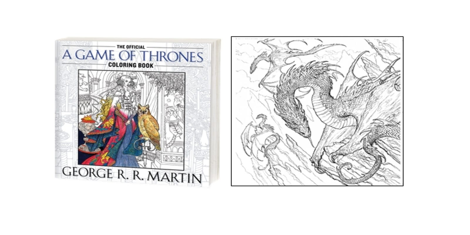 New \'Game of Thrones\' Coloring Page