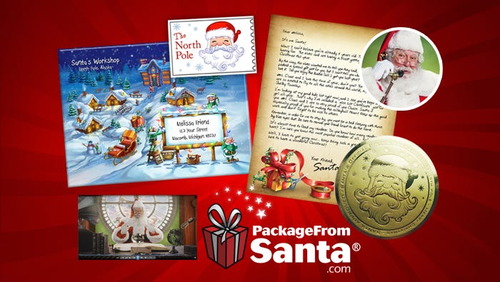 send a package from santa