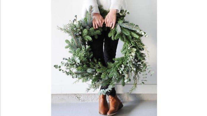 Last Chance Holiday Wreath Making Workshop