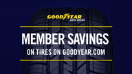 Member Savings on Tires on Goodyear.com