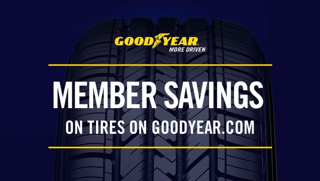 Goodyear member savings tile